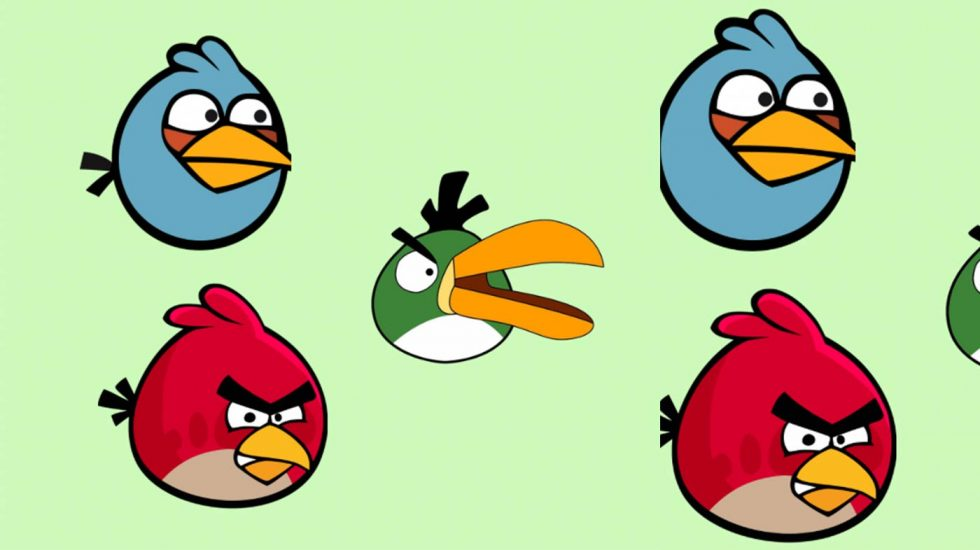 Angry Birds Painting Workshop